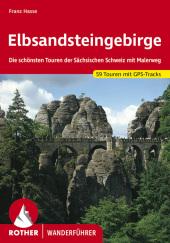 Rother Wanderführer Elbsandsteingebirge Cover