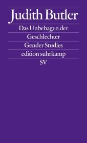Das Unbehagen der Geschlechter Cover