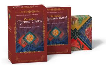 Russische Zigeuner-Orakelkarten, 25 Karten m. Handbuch