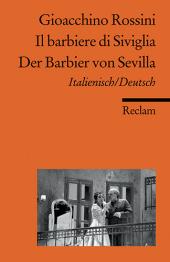 Der Barbier von Sevilla;Il barbiere di Siviglia