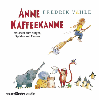 Anne Kaffeekanne, 1 Audio-CD