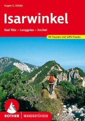 Rother Wanderführer Isarwinkel Cover