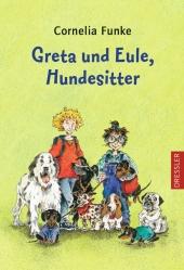 Greta und Eule, Hundesitter Cover