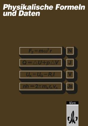 Physikalische Formeln und Daten