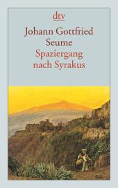 Spaziergang nach Syrakus im Jahre 1802 Cover