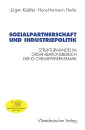 Sozialpartnerschaft und Industriepolitik