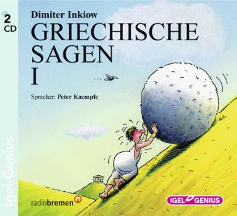 Griechische Sagen, 2 Audio-CDs
