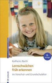 Lernschwächen früh erkennen im Vorschul- und Grundschulalter Cover
