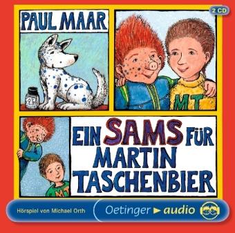 Ein Sams für Martin Taschenbier, 2 Audio-CDs