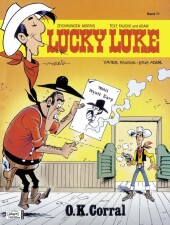 Lucky Luke - O.K. Corral Cover