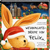 Weihnachtsbriefe von Felix, m. Weihnachtsmannmütze Cover