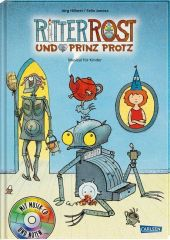 Ritter Rost und Prinz Protz, m. Audio-CD Cover