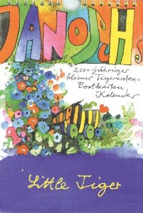 Janoschs 200-jähriger kleiner Tigerenten-Postkarten-Kalender