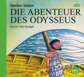 Die Abenteuer des Odysseus, 2 CD-Audio Cover