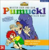 Pumuckl auf Hexenjagd - Hilfe, eine Aushilfe, 1 Audio-CD Cover