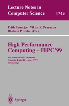 High Performance Computing - HiPC'99