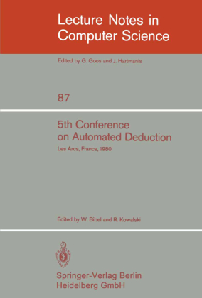 5th Conference on Automated Deduction