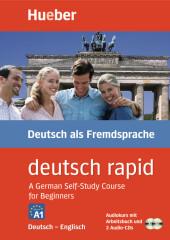 deutsch rapid, Deutsch-Englisch, Audiokurs mit Arbeitsbuch und 2 Audio-CDs