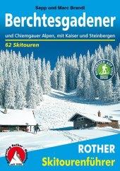 Rother Skitourenführer Berchtesgadener und Chiemgauer Alpen Cover