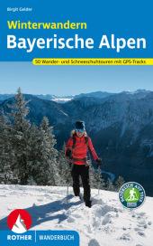 Rother Wanderbuch Winterwandern Bayerische Alpen