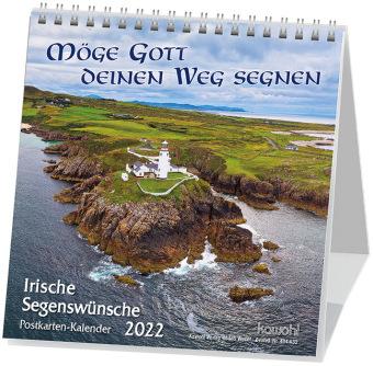 Möge Gott deinen Weg segnen, Postkartenkalender 2020