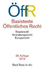 Basistexte Öffentliches Recht (ÖffR) Cover