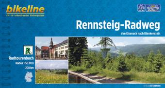 Bikeline Radtourenbuch Rennsteig-Radweg