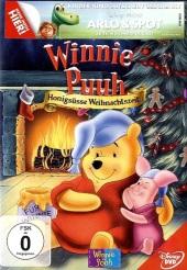 Winnie Puuh, Honigsüße Weihnachszeit, 1 DVD Cover