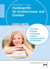 Fachbegriffe für Erzieherinnen und Erzieher Cover