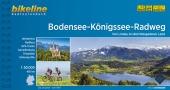Bikeline Radtourenbuch Bodensee-Königssee-Radweg Cover