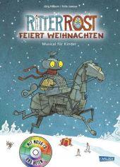 Ritter Rost feiert Weihnachten, m. Audio-CD