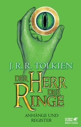 Der Herr der Ringe, Anhänge und Register