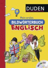 Duden - Mein erstes Bildwörterbuch Englisch, m. Audio-CD Cover