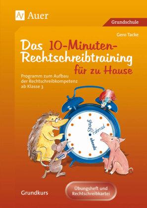 Das 10-Minuten-Rechtschreibtraining für zu Hause