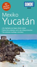 DuMont direkt Reiseführer Mexiko, Yucatán Cover