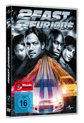 2 Fast 2 Furious, 1 DVD, deutsche u. englische Version