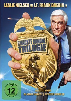 Die Nackte Kanone Box, 3 DVDs, deutsche u. englische Version