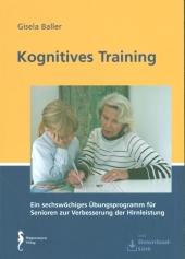 Kognitives Training, m. CD-ROM Cover