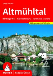 Rother Wanderführer Altmühltal Cover