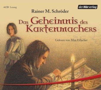 Das Geheimnis des Kartenmachers, 4 Audio-CDs