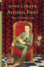 Artemis Fowl, Der Geheimcode Cover