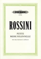 Petite Messe solennelle, Klavierauszug