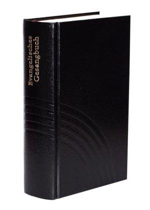 Evangelisches Gesangbuch, für Baden, Elsass und Lothringen, Große Ausgabe, Kunstleder schwarz