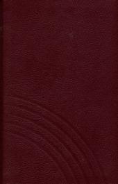 Evangelisches Gesangbuch (Ausgabe für fünf unierte Kirchen - Anhalt,...), Taschenausgabe rot