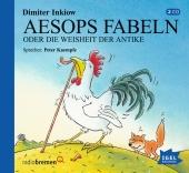 Aesops Fabeln oder Die Weisheit der Antike, 2 Audio-CDs Cover
