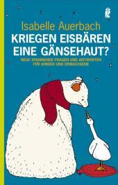 Kriegen Eisbären eine Gänsehaut? Cover