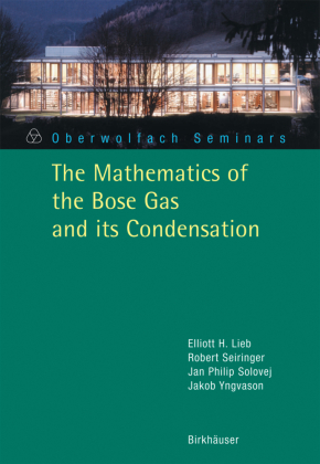 The Mathematics of the Bose Gas and its Condensation