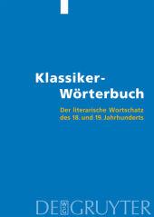 Klassiker-Wörterbuch, m. CD-ROM