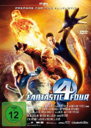 Fantastic Four, 1 DVDs, deutsche u. englische Version