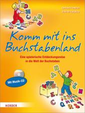 Komm mit ins Buchstabenland, m. Audio-CD Cover